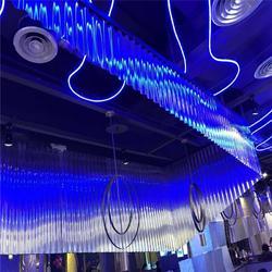 直销现场制作 彩钢无钉式圆波板 311型 厚度0.6mm 适用4S店厂房墙面图片