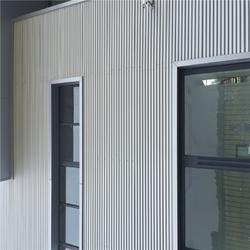 直销现场制作 彩钢 方波波纹板 710型 厚度0.9mm 适用 影视基地图片