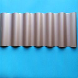 钛锌板波纹板836型厚度0.6mm适用4S店厂房图片