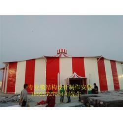订制景区游乐场大型马戏团帐篷儿童乐园PVDF张拉膜结构马戏团抗风帐篷遮阳雨棚图片