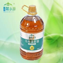 和皓蒙乡源-压榨菜籽油4L-巴特庄园油脂图片