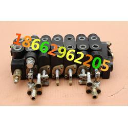 挖掘机改装手动多路换向阀6联分配器 操作阀 国产挖掘机液压阀DF-65O图片