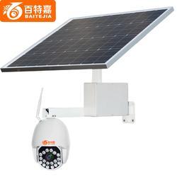 百特嘉  云台摄像机 太阳能旋转摄像头 360度监控摄像机图片