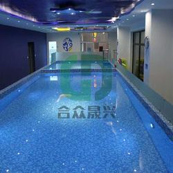供应儿童戏水池 游泳池贴膜 老旧游泳池改造 游泳池贴膜 方法图片