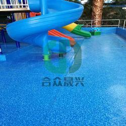 度假村 老旧游泳池改造 儿童戏水池 防水胶膜 方法图片