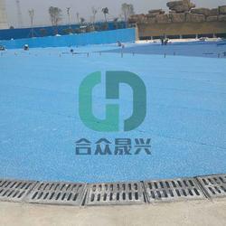 铺装老旧游泳池改造 1.5mm 戏水池 防水胶膜 厂家图片