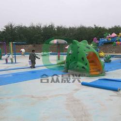 室外戏水乐园 防水胶膜 翻新图片