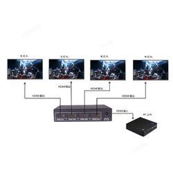 中卜科技DisplayPort Splitter 1分2 分配器高端传输信号品质高图片