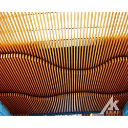 木纹铝方通吊顶多少钱一米图片