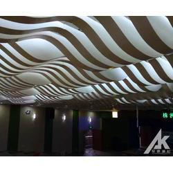弧形铝单板天花厂家定做图片