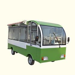 便捷式流動美食餐車冰激凌奶茶車小型方便圖片