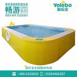 新款多功能益智寶寶游泳池健身房鋼結構泳池廠家直銷圖片