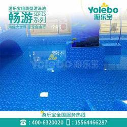 游乐宝儿童室内乐园厂家戏水小品亲子游泳深水浅水池图片