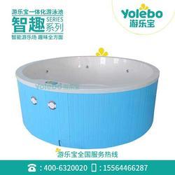 亲子水育组装池钢结构拼接游泳设备月子中心恒温泳池图片