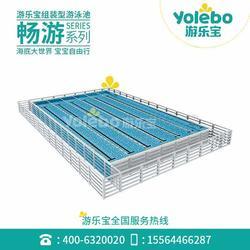游樂寶拆裝式健身房恒溫泳池 鋼結構裝配式 游泳設備圖片