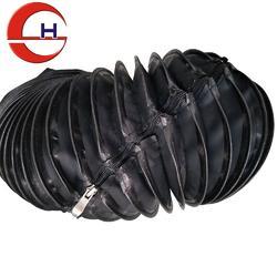拉链式风琴防护罩 圆筒防尘罩 机床丝杠保护套生产厂家图片