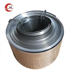 不锈钢螺旋钢带保护套丝杠防护套订做图片