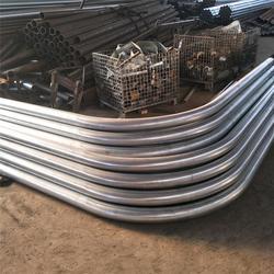 常州镀锌弯管-雷普管件厂家直销-供应32mm镀锌弯管图片