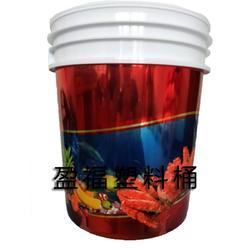 盈福塑料桶|石家庄二次印刷膜内贴桶|10L塑料桶图片