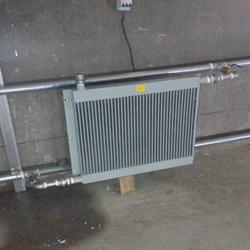 养殖加温暖风机鸡舍猪场取暖热风机东北冬季取暖设备图片