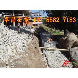 改善河势石笼护垫    稳定主流石笼网  水利工程防洪减灾铅丝石笼、固滨笼图片