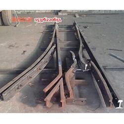 矿用上道岔转盘和下道岔转盘使用不一样图片