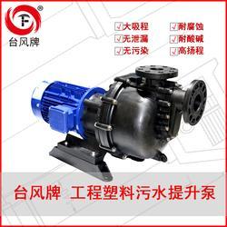 台风380V调节池耐酸碱自吸泵 塑料自吸式离心泵厂家 可量身定制图片