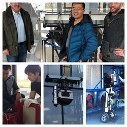 SERBOT2mini是SERBOT2机器人的缩水精华型,也属于接触清洗模式机器人图片