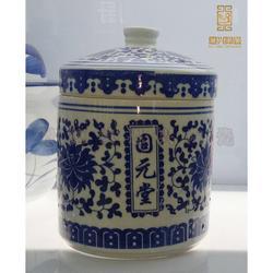 厂家直销陶瓷茶叶罐 中药罐 蜂蜜罐图片