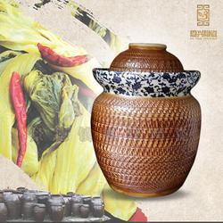 泡菜坛子密封罐储物罐 陶瓷泡菜坛图片
