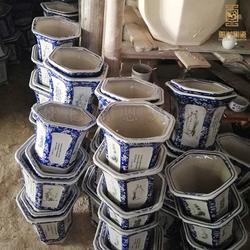 陶瓷花盆厂家直销种花花盆图片