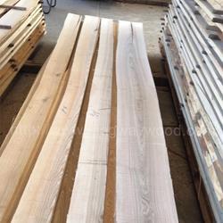 金威木业欧洲白蜡木 实木板 毛边 30mmAB 现货 木板 木材图片