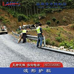 西林县波形护栏厂家 乡村公路防撞护栏怎么卖图片