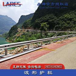 荔蒲縣波形護欄板 熱鍍鋅鄉村公路防撞欄包安裝圖片