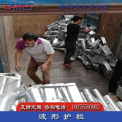 永福縣波形護欄廠家直銷 熱鍍鋅鄉村公路防撞欄出廠地址圖片