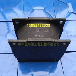 徐工18吨压路机减震块 连接胶块 缓冲器图片