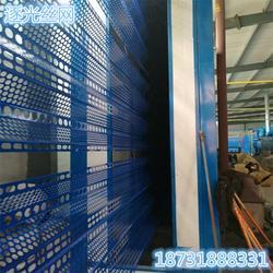 逐光镀锌板防风抑尘网报价金属防尘网煤场规格图片