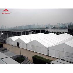 铝合金帐篷搭建 可移动式大型仓库帐篷 帐篷生产厂家图片