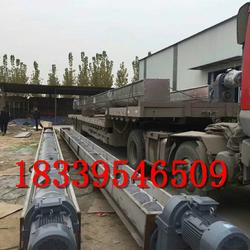 螺旋上料提升机 矿用输送设备 污泥处理管式输送机图片