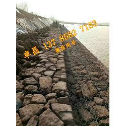 生态护岸雷诺护垫 pvc绿滨垫护脚 水库除险格宾石笼 固滨笼挡墙图片