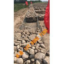 河渠护岸固滨笼 防洪抢险格宾笼 2*1*1铅丝笼现货 固脚格宾石笼厂家图片