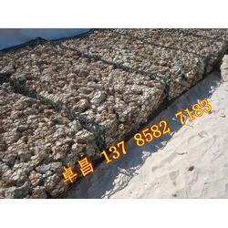 生态格网石笼护坡 应急度汛格宾笼 水利堤防固滨笼 雷诺护垫施工流程图片