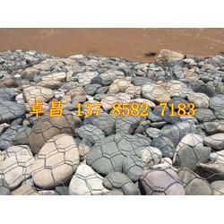 河道治理格宾石笼 水利护坡宾格网 pvc镀锌五绞固滨笼 生态护底绿滨垫图片