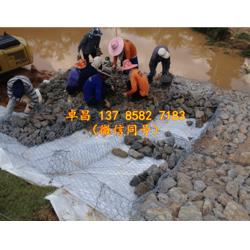 河道驳岸格宾石笼 河堤挡墙固滨笼 堤防宾格网护脚 锌铝合金雷诺护垫规格图片