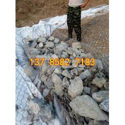 雷诺护垫标准 汾河治理格宾笼 固滨笼护坡 格宾石笼施工图片