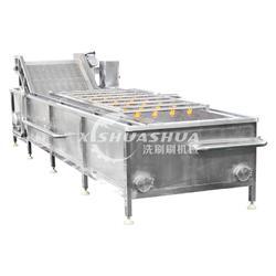 供应厂家直销洗刷刷XSS-5000蔬菜清洗设备 大枣水果清洗机 果蔬气泡清洗机图片