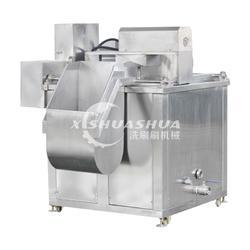 供应厂家直销XSS-1000电加热油水分离油炸机 自动控温油炸机 蚕豆油炸机图片