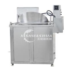 供應廠家直銷洗刷刷XSS-1000電加熱油炸機 多功能爆米花機 牛肉干油炸機 節能油炸機圖片