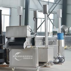 供应厂家直销洗刷刷XSS-3000薯条油炸成套设备 薯片油炸流水线 全自动油炸流水线图片