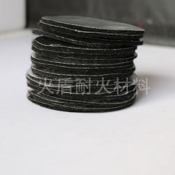 7CM圆形楠竹镂空盘香炉黑色香盒隔火垫阻燃棉图片